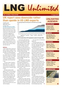 LNG Unlimited - 11 August 2015