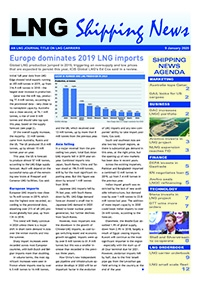 LNG Shipping News - 9 January 2020