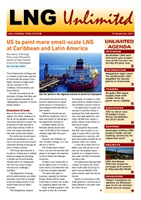 LNG Unlimited – 12 September 2017