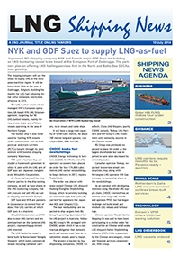 LNG Shipping News - 10 July 2014