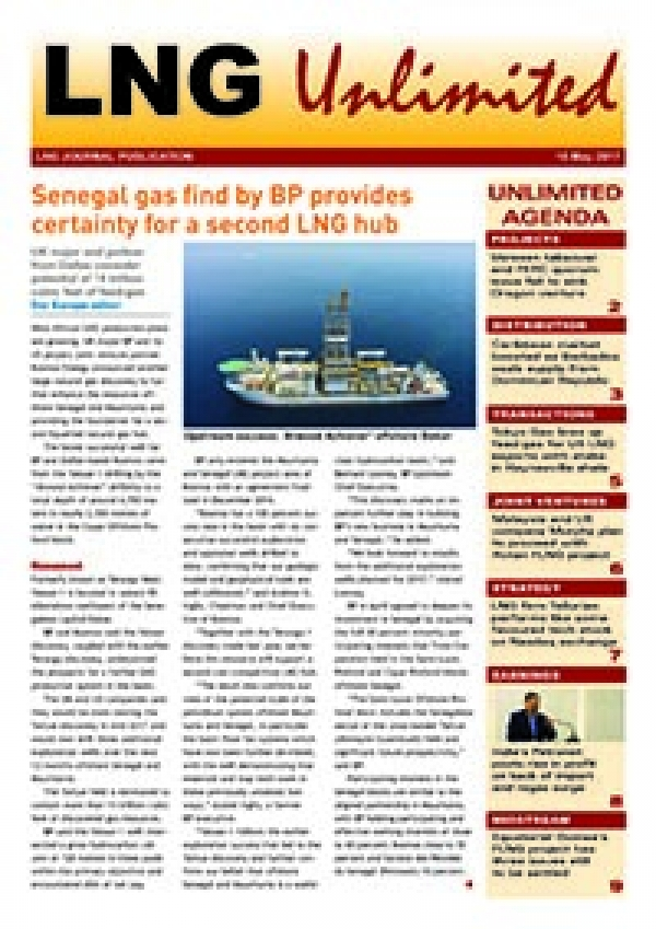 LNG Unlimited – 16 May 2017