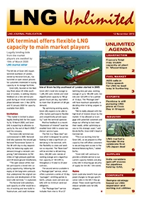 LNG Unlimited – 12 November 2019