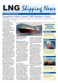 LNG Shipping News - 16 May 2013