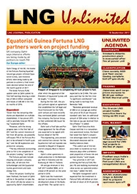 LNG Unlimited – 19 September 2017