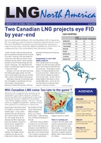 LNG North America – June 2016