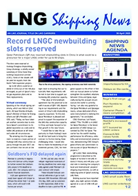 LNG Shipping News - 30 April 2020