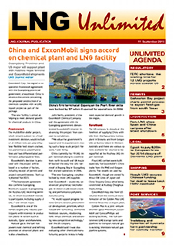 LNG Unlimited – 11 September 2018
