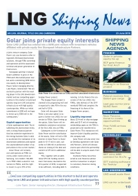 LNG Shipping News - 23 June 2016