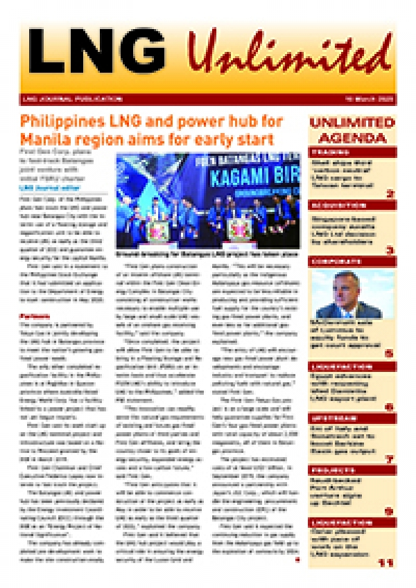 LNG Unlimited – 10 March 2020