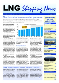 LNG Shipping News - 1 February 2018