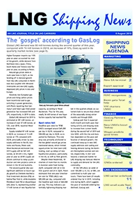LNG Shipping News - 8 August 2019