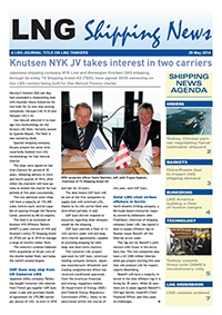 LNG Shipping News - 29 May 2014