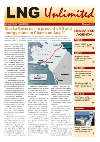 LNG Unlimited - 18 August 2015