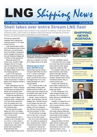 LNG Shipping News - 23 January 2014