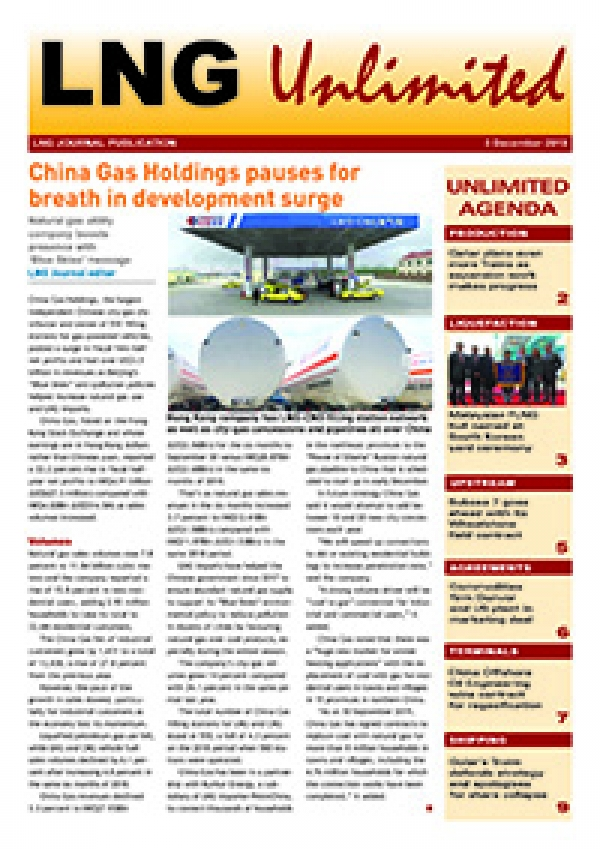 LNG Unlimited – 3 December 2019