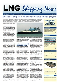 LNG Shipping News - 17 April 2014