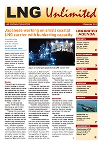 LNG Unlimited - 2 December 2014