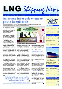 LNG Shipping News - 28 September 2017