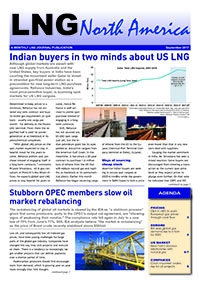 LNG North America – September 2017