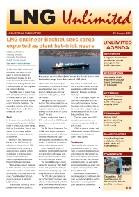 LNG Unlimited - 20 October 2015