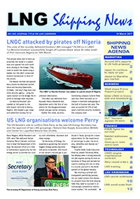 LNG Shipping News - 16 March 2017