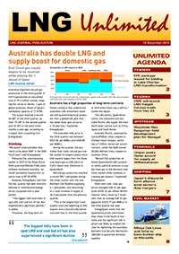 LNG Unlimited – 10 December 2019