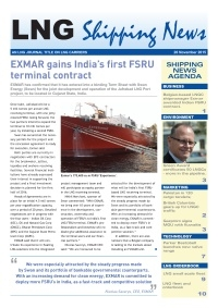 LNG Shipping News - 26 November 2015