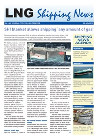 LNG Shipping News - 25 July 2013