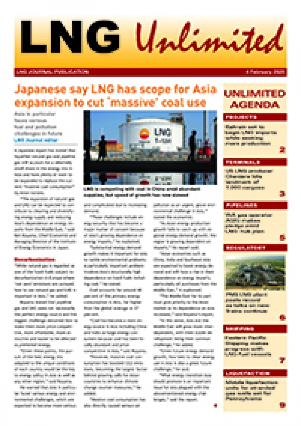 LNG Unlimited – 4 February 2020