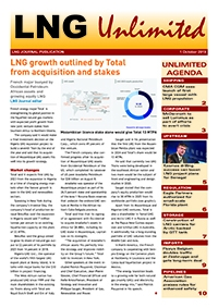 LNG Unlimited – 1 October 2019