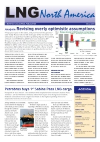 LNG North America – March 2016