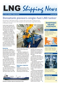 LNG Shipping News - 20 June 2013