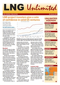 LNG Unlimited - 20 January 2015