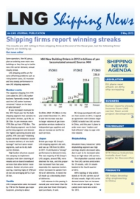 LNG Shipping News - 02 May 2013