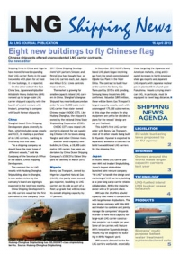 LNG Shipping News - 18 April 2013