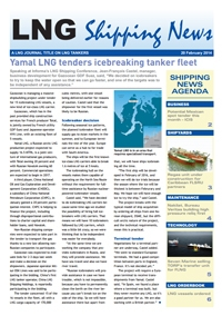 LNG Shipping News - 20 February 2014